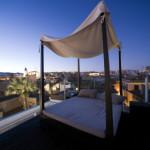 Himmelbett im Freien